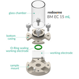 BM EC 15 mL - Bottom Mount Electrochemical Cell