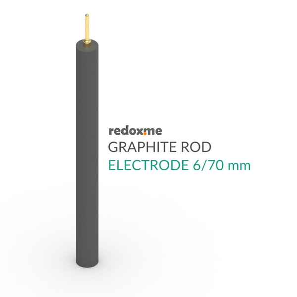Graphite rod electrode - GR 6/70 mm