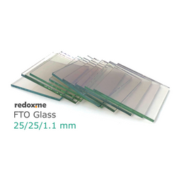FTO Glass 25/25/1.1 mm – pack of 10