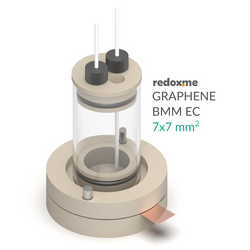 Graphene electrochemical cell