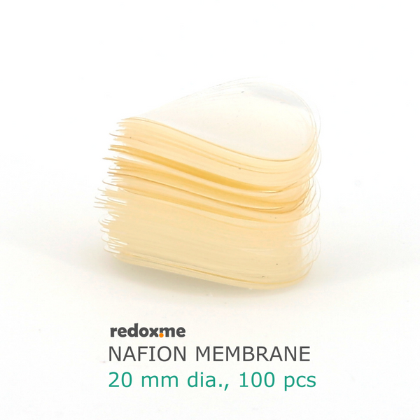 Nafion Membrane 20 mm dia. (pack of 100)