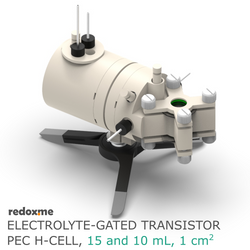 Electrolyte-Gated Transistor PEC H-Cell - Electrolyte-Gated Transistor Photo-electrochemical H-Cell