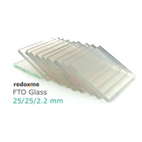 FTO Glass 25/25/2.2 mm – pack of 10