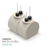 MM EC H-Cell 2x15 mL- Magnetic Mount Electrochemical H-Cell