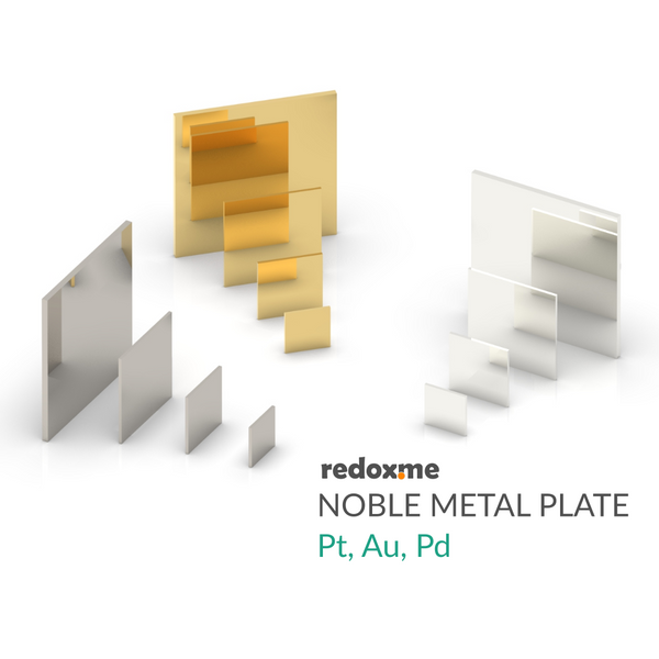 Noble Metal Plate - platinum, gold, palladium