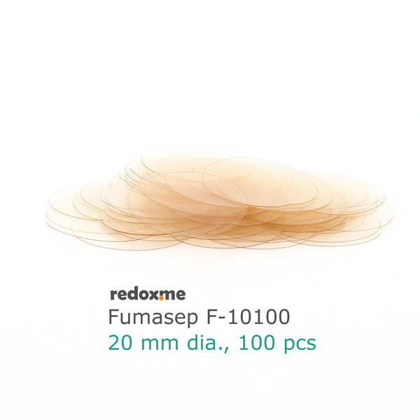 Fumasep F-10100 Membrane 20 mm dia. (pack of 100)