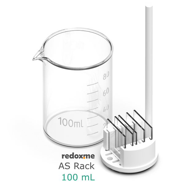 AS Rack 100 mL - Adjustable Substrate Rack for 100 mL beaker