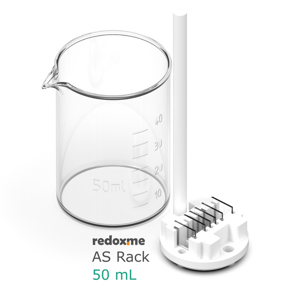 AS Rack 50 mL - Adjustable Substrate Rack for 50 mL beaker