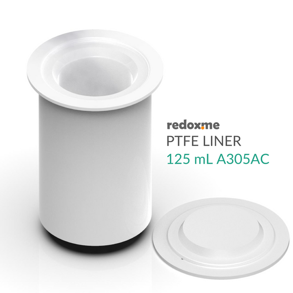 PTFE Liner 125 mL (Replacement for Parr Instrument A305AC)