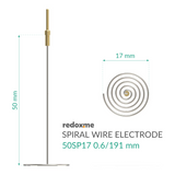 Spiral Wire Electrode - 50SP17 0.6/191 mm