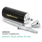 Smart Airbrush - pressure 25 psi, airflow: 8 L/min