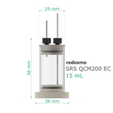 Quartz Crystal Microbalance Electrochemical cell - SRS QCM200 EC 15 mL