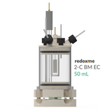 2-C BM EC 50 mL - Two-compartment Bottom Mount Electrochemical Cell 50 mL