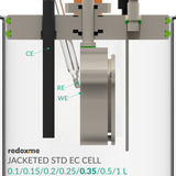 Jacketed Standard Electrochemical Cell