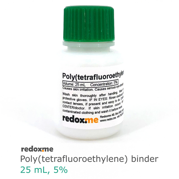 Poly(tetrafluoroethylene) binder (PTFE) - 25 mL