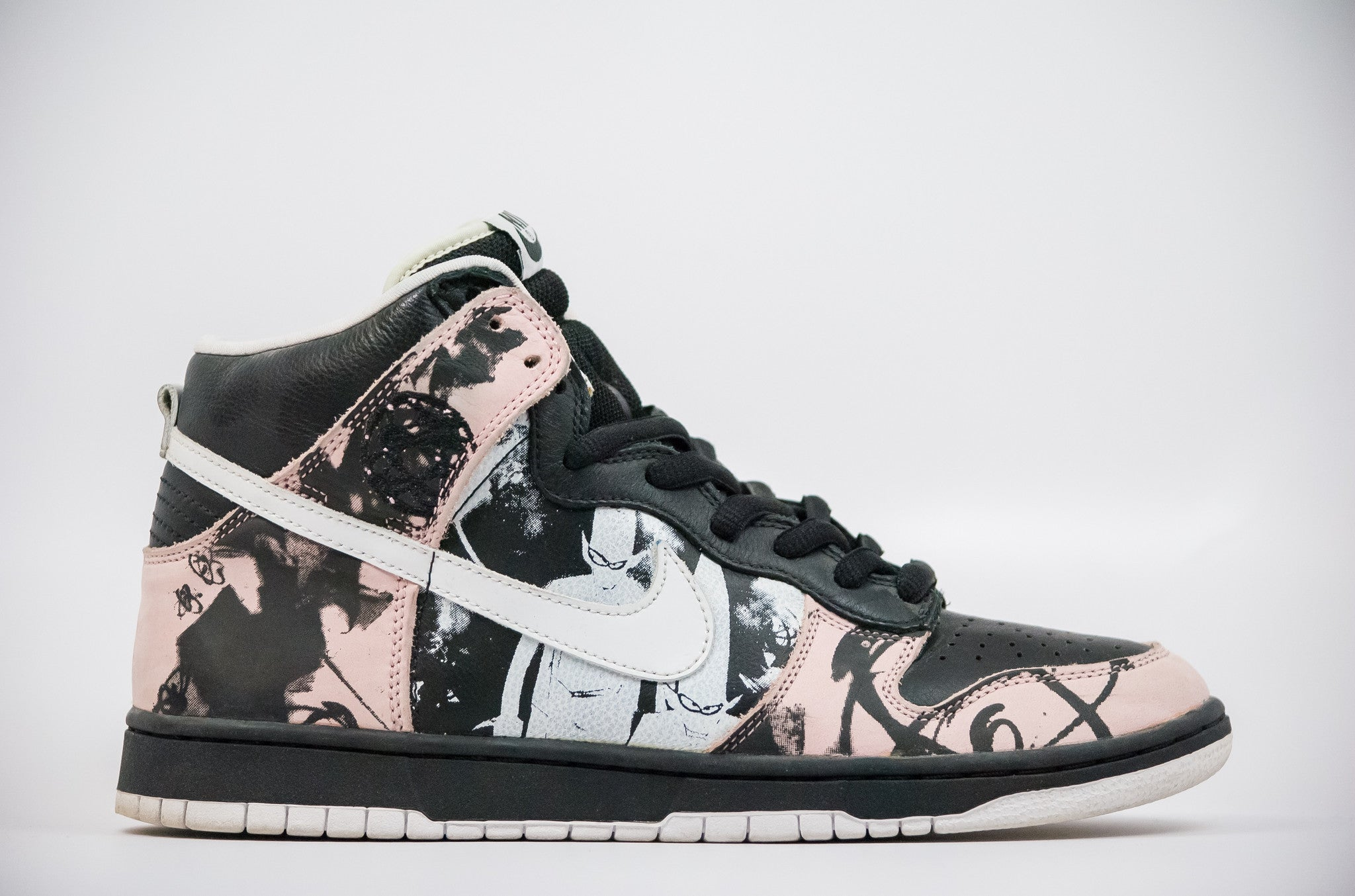 sale retailer b1b19 b1bb8 ... norway nike dunk high pro sb unkle preowned 80235 4f338