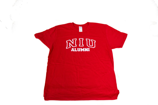 NIU Alumni Red Men's T-Shirt