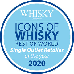 Icons of Whisky Single Outlet Retailer of the Year 2020