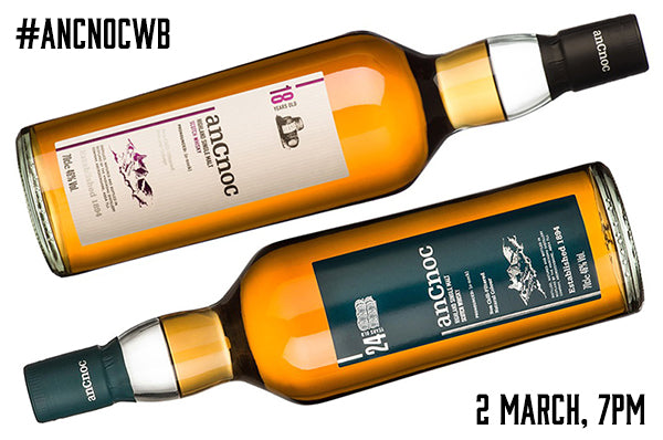 anCnoc Twitter Tasting 2-March
