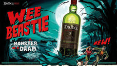Ardbeg Wee Beastie 5 Year Old Whisky Poster