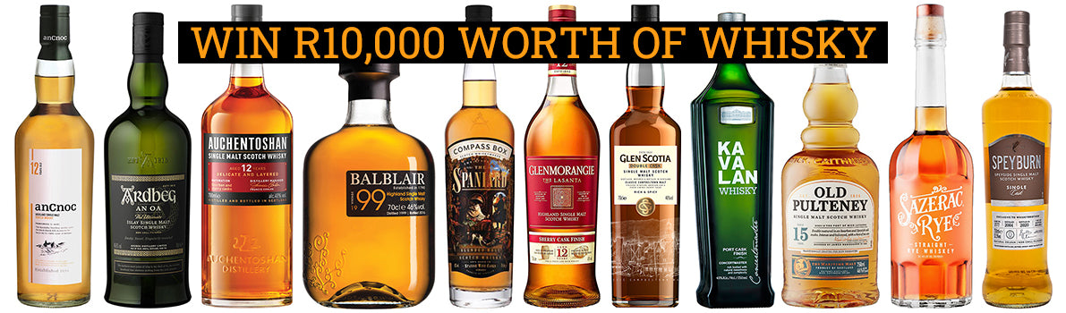 Win R10,000 Worth of Whisky Competition