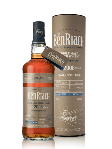 Benriach 9yo Peated Port Cask