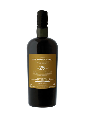 BEN NEVIS 25 Years Sherry 8th Edition ARTIST S.V LMDW