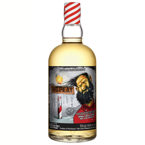 Big Peat Small Batch Christmas 2014 Islay Scotch Blended Malt Whisky