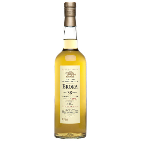 Brora 38 Year Old 2016 Release Highlands Single Malt Scotch Whisky