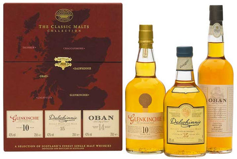 Classic Malt Gift Set the Gentle Collection
