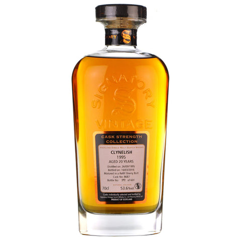 Clynelish 20yo 1995 Scotch Highland Single Malt Whisky