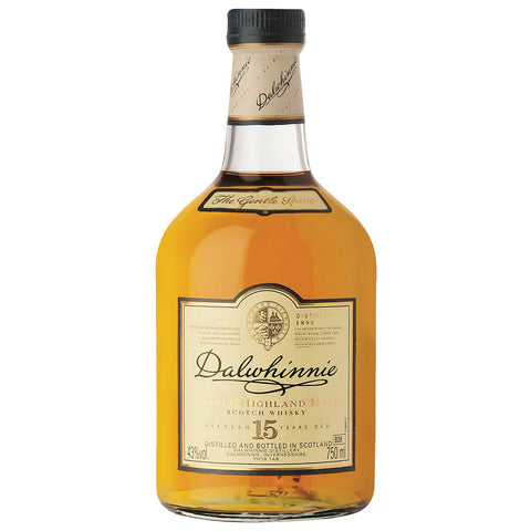 Dalwhinnie 15 Year Old Scotch Highlands Single Malt Whisky
