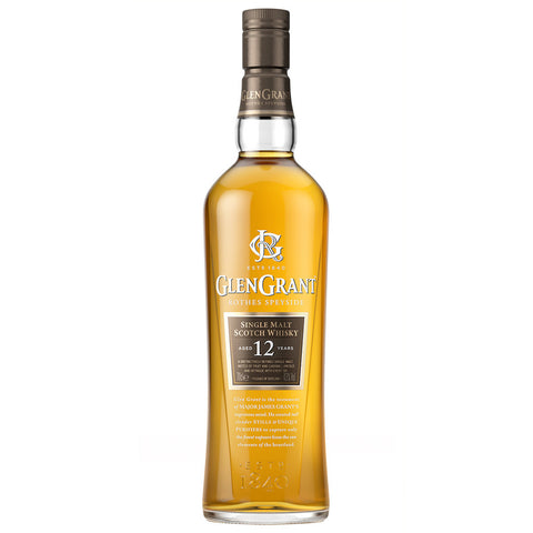 Glen Grant 12yo Speyside Single Malt Scotch Whisky
