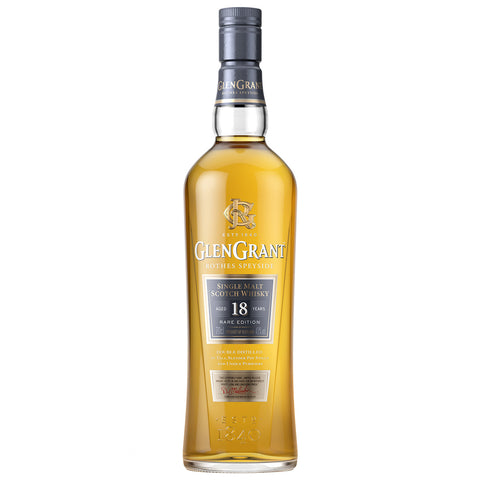 Glen Grant 18yo Single Scotch Malt Whisky