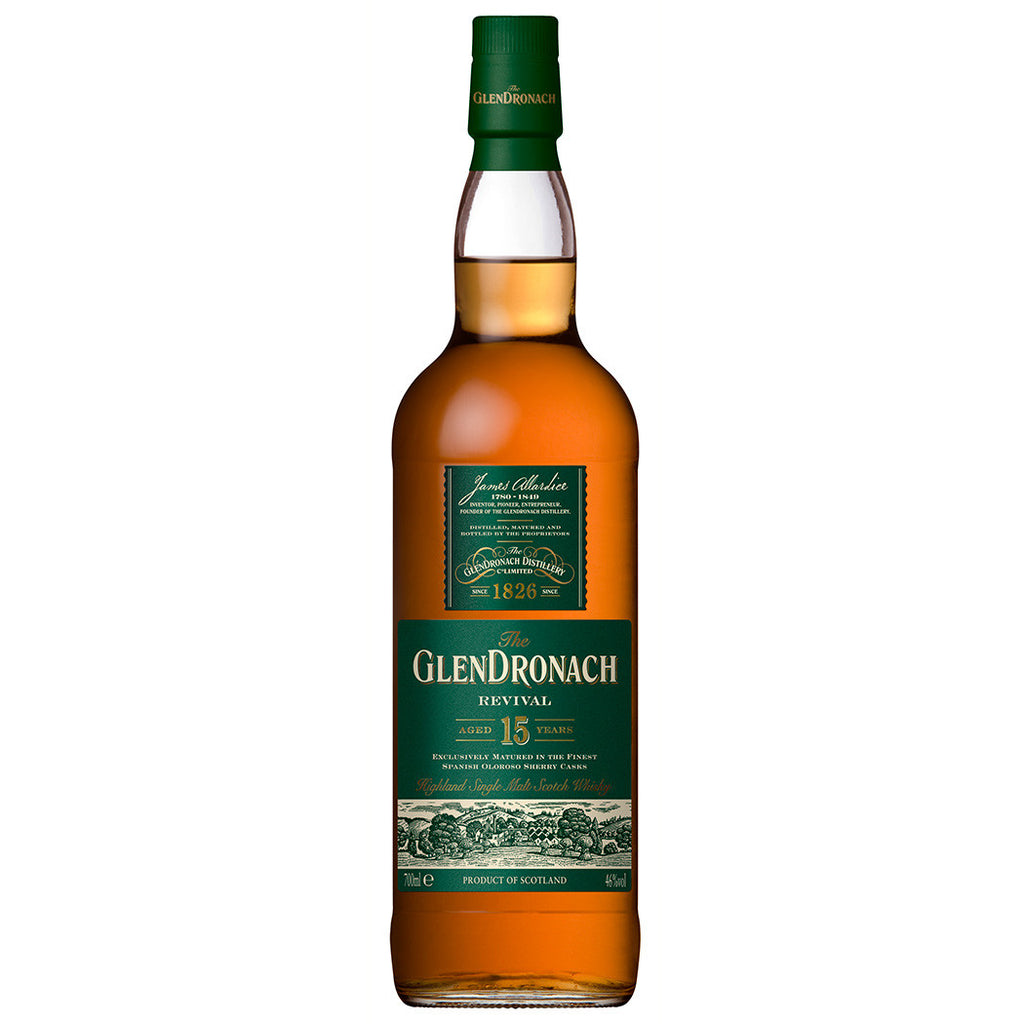 GlenDronach 15yo Scotch Highlands Single Malt Whisky