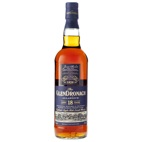 GlenDronach 18yo Scotch Highlands Single Malt Whisky