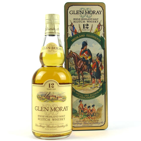 Glen Moray 12 Highland Regiments