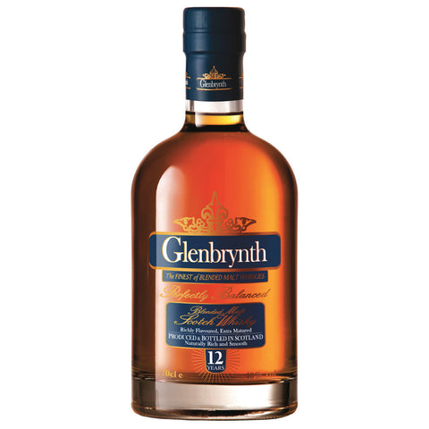 Glenbrynth 12 Year Old Scotch Blended Malt Whisky