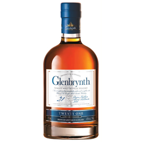 Glenbrynth 21 Year Old Scotch Single Malt Whisky