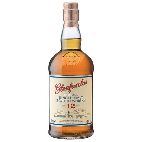 Glenfarclas 12yo Speyside Scotch Single Malt Whisky