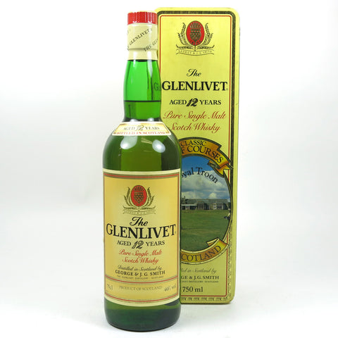 Glenlivet 12yo Royal Troon