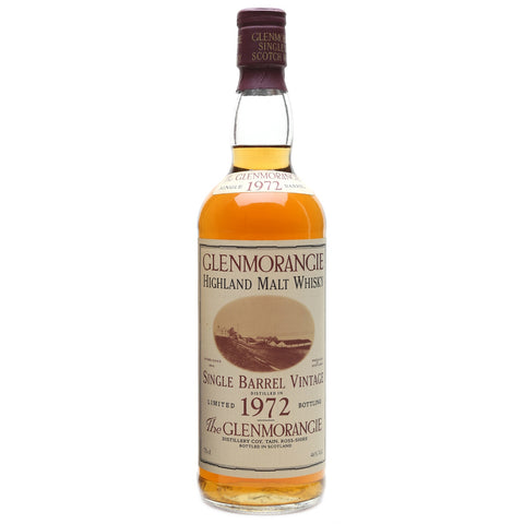 Glenmorangie 1972 Single Barrel Highland Single Malt Scotch