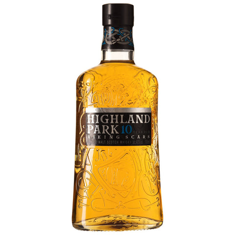 Highland Park 10 Year Old Scotch Single Malt