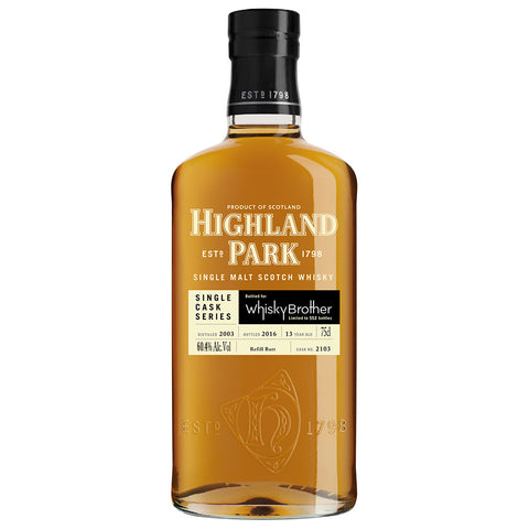Highland Park 13 Year Old WhiskyBrother Single Malt Scotch Whisky