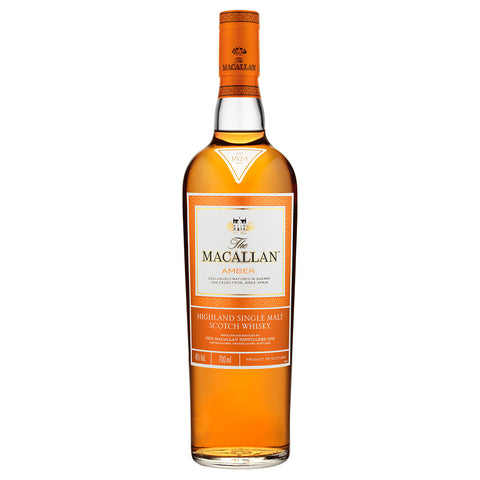 Macallan Amber Ernie Button Speyside Single Malt Scotch Whisky