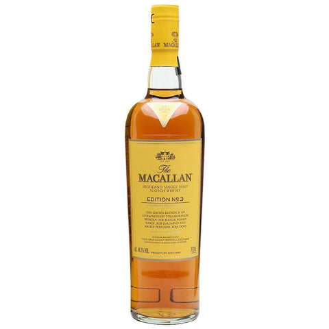 Macallan Edition No. 3 Speyside Scotch Single Malt Whisky