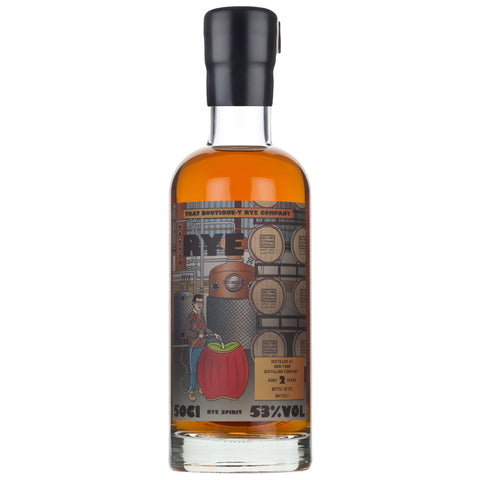 New York Distilling Company Boutiquey American Rye Whiskey