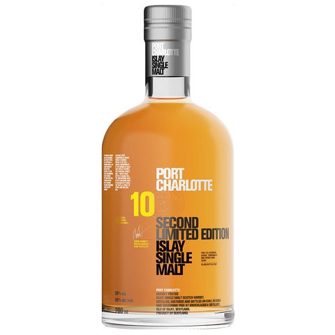 Port Charlotte 10yo 2nd Edition Islay Scotch Single Malt