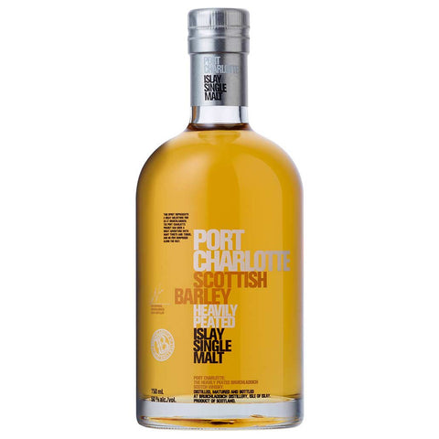 Port Charlotte Scottish Barley Islay Scotch Single Malt