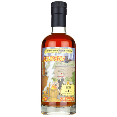 Rock Town 1yo Boutiquey American Bourbon Whiskey